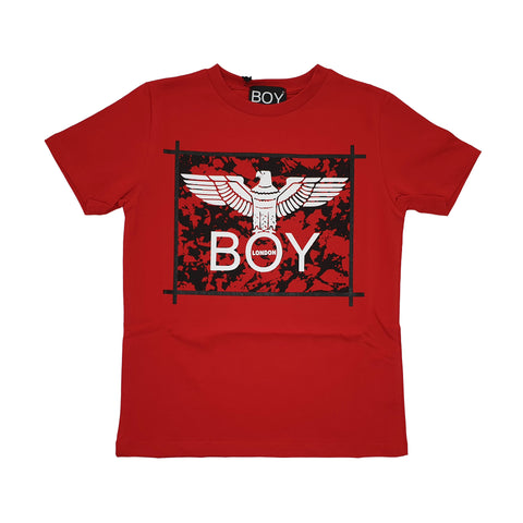 Vestito bambina Boy London con fantasia fiorata sul retro