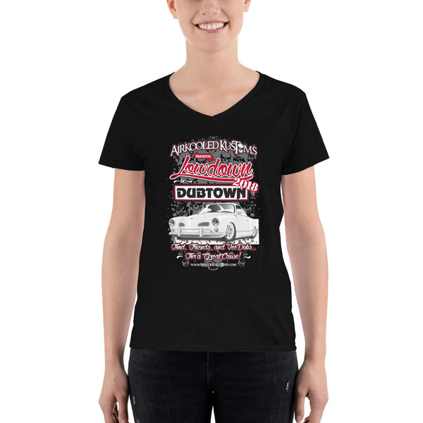 Lowdown in Dubtown 2018 Show Shirt - Women's