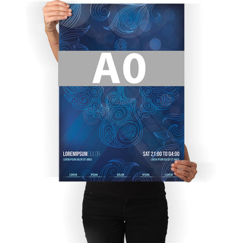 A0 Poster (Paper)
