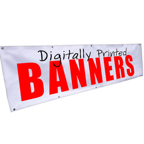 Banners 8ft x 4ft