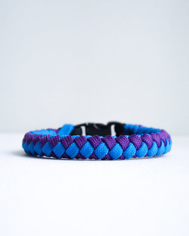 4 Strand Paracord Bracelet with Multicolor Strap Vol.2