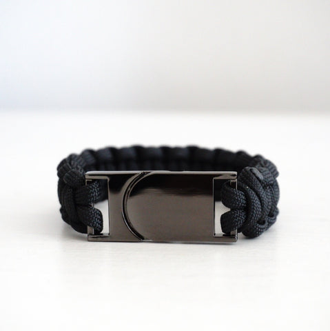 Magnetic Clasp Bracelet with Solid Color Strap