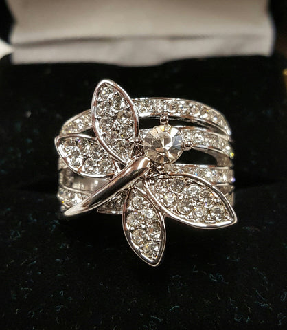 FG044 Dragon Fly Ring - Trinkets & Things Handmade with Aloha
