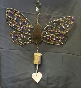 CH013 Dragonfly Wind Chime - Trinkets & Things Handmade with Aloha