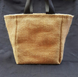 QT001 Plain Burlap with University of Texas liner - Trinkets & Things Handmade with Aloha