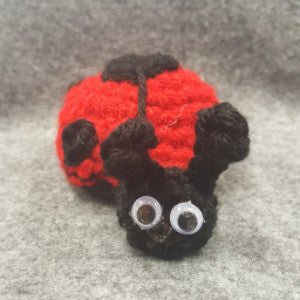CC029 Red Lady Bug - Small - Trinkets & Things Handmade with Aloha