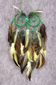 CH115 Owl Dream Catcher - Trinkets & Things Handmade with Aloha