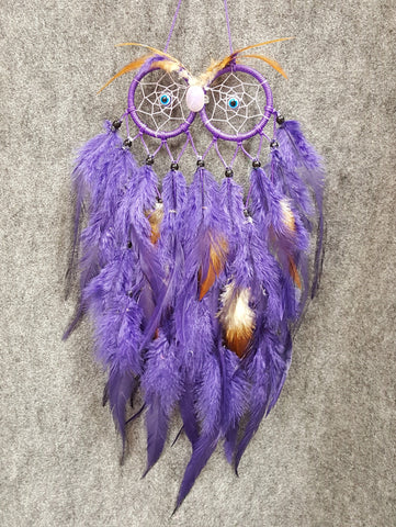 CH116 Owl Dream Catcher - Trinkets & Things Handmade with Aloha