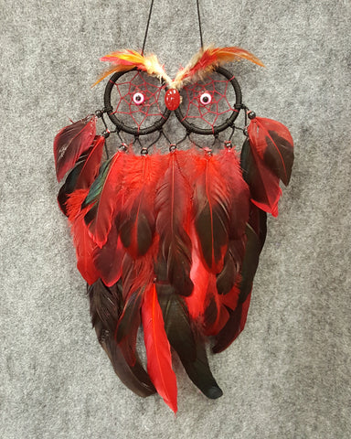 CH120 Owl Dream Catcher - Trinkets & Things Handmade with Aloha
