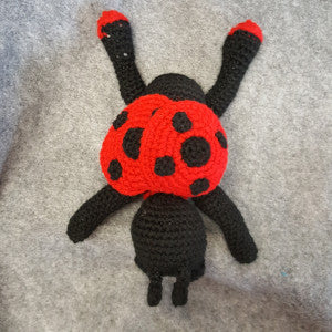 CC031 Red Lady Bug - Large - Trinkets & Things Handmade with Aloha