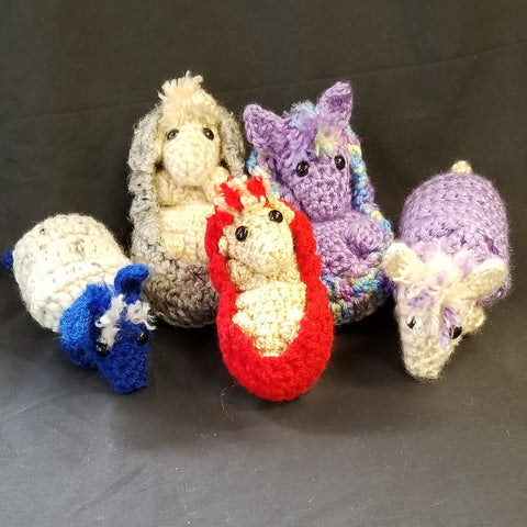 CC021 Crochet Armadillo - Trinkets & Things Handmade with Aloha