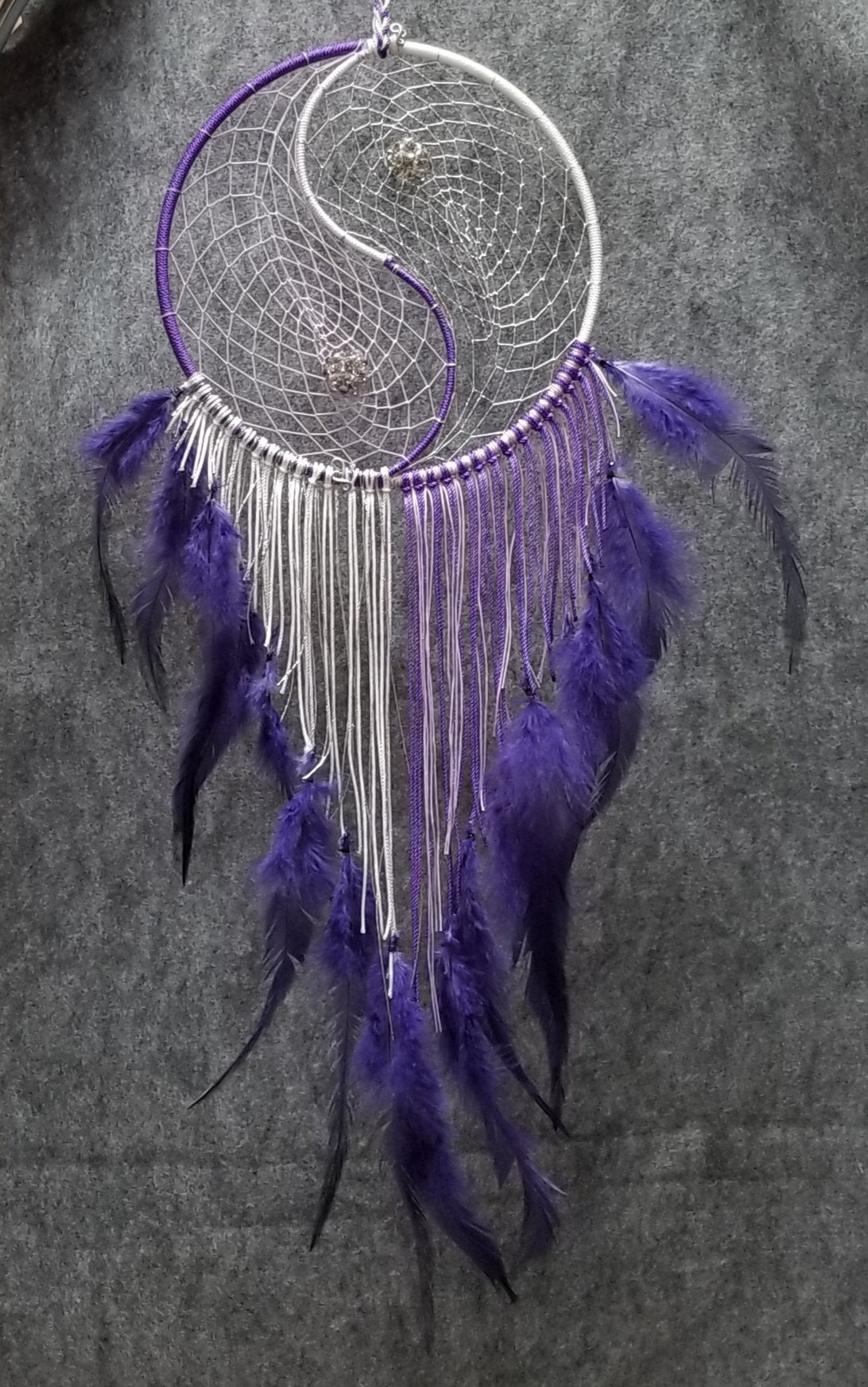 DC190 Dream Catcher - Ying and Yang - Trinkets & Things Handmade with Aloha