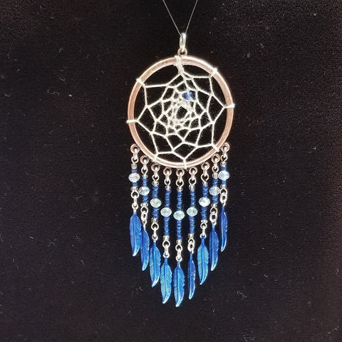 WW143 Dream Catcher Pendant - Trinkets & Things Handmade with Aloha