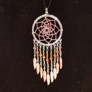 WW142 Dream Catcher Pendant - Trinkets & Things Handmade with Aloha