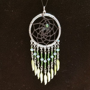 WW162 Dream Catcher Pendant - Trinkets & Things Handmade with Aloha