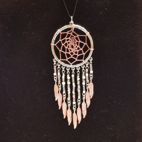 WW147 Dream Catcher Pendant - Trinkets & Things Handmade with Aloha