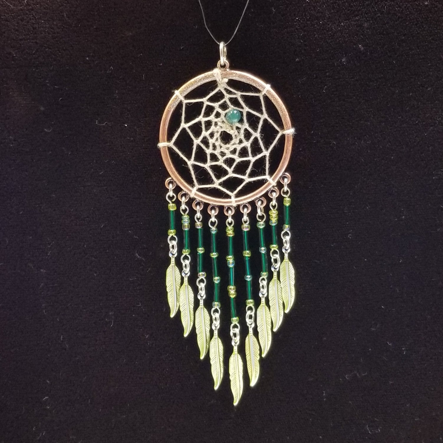 WW151 Dream Catcher Pendant - Trinkets & Things Handmade with Aloha