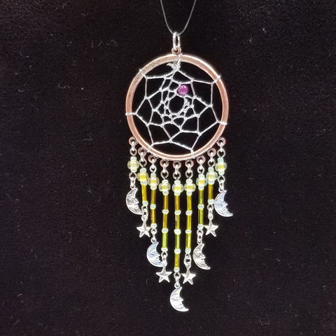 DC180 Dream Catcher Pendant - Trinkets & Things Handmade with Aloha