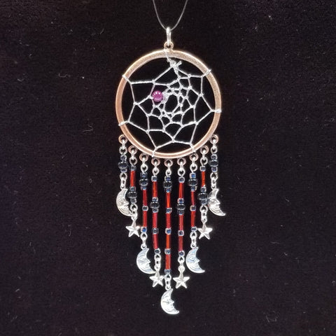 DC179 Dream Catcher Pendant - Trinkets & Things Handmade with Aloha