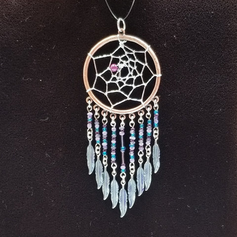 DC178 Dream Catcher Pendant - Trinkets & Things Handmade with Aloha