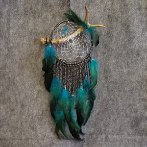 DC191 Dream Catcher - Deer Antler - Trinkets & Things Handmade with Aloha