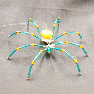 M155 Beaded Christmas Spider - Trinkets & Things Handmade with Aloha