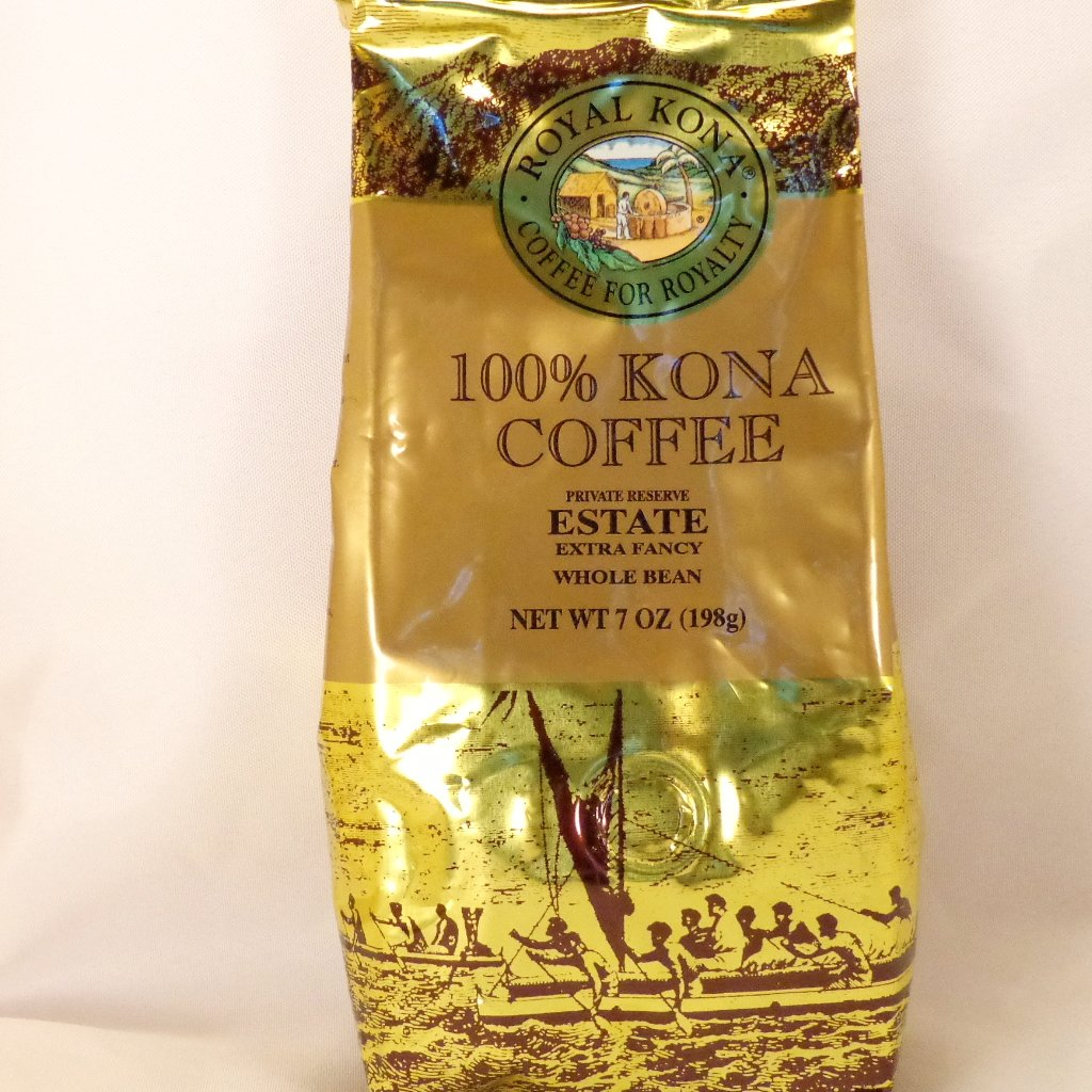 Royal Kona Coffee 100% Estate Whole Bean - Trinkets & Things Handmade with Aloha