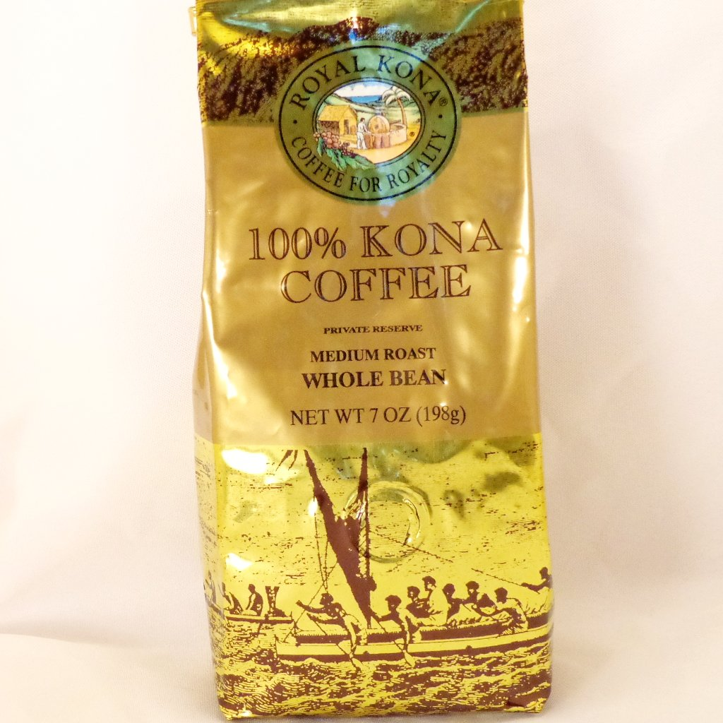Royal Kona Coffee 100% Whole Bean - Trinkets & Things Handmade with Aloha