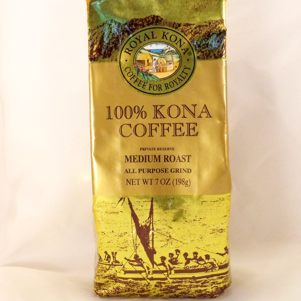 Royal Kona Coffee 100% All Purpose Grind - Trinkets & Things Handmade with Aloha