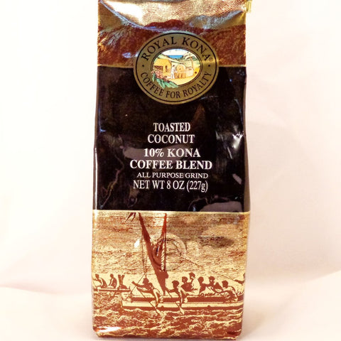 Royal Kona Coffee 10% Toasted Coconut APG - Trinkets & Things Handmade with Aloha