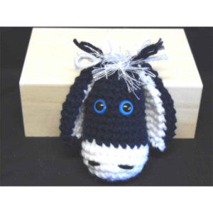 CC028 Crochet Donkey - Trinkets & Things Handmade with Aloha