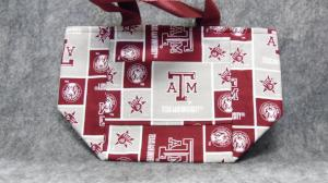 QT027 A & M Small Tote with Pockets - Trinkets & Things Handmade with Aloha