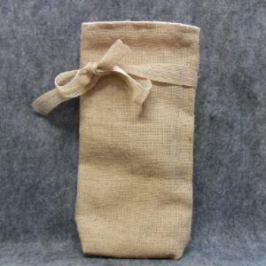 QT046 Quilted Burlap Bag - Trinkets & Things Handmade with Aloha