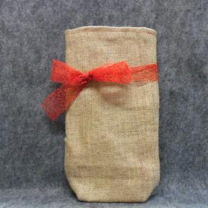 QT048 Quilted Burlap Bag - Trinkets & Things Handmade with Aloha