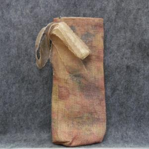 QT054 Quilted Burlap Bag - Trinkets & Things Handmade with Aloha