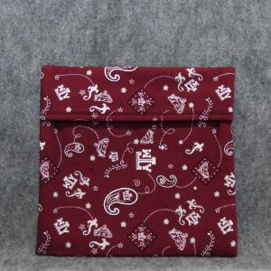 QT036 Microwave Bag A & M Bandana Print - Trinkets & Things Handmade with Aloha