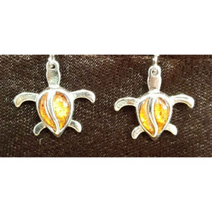 Koa Honu Dangle - Trinkets & Things Handmade with Aloha