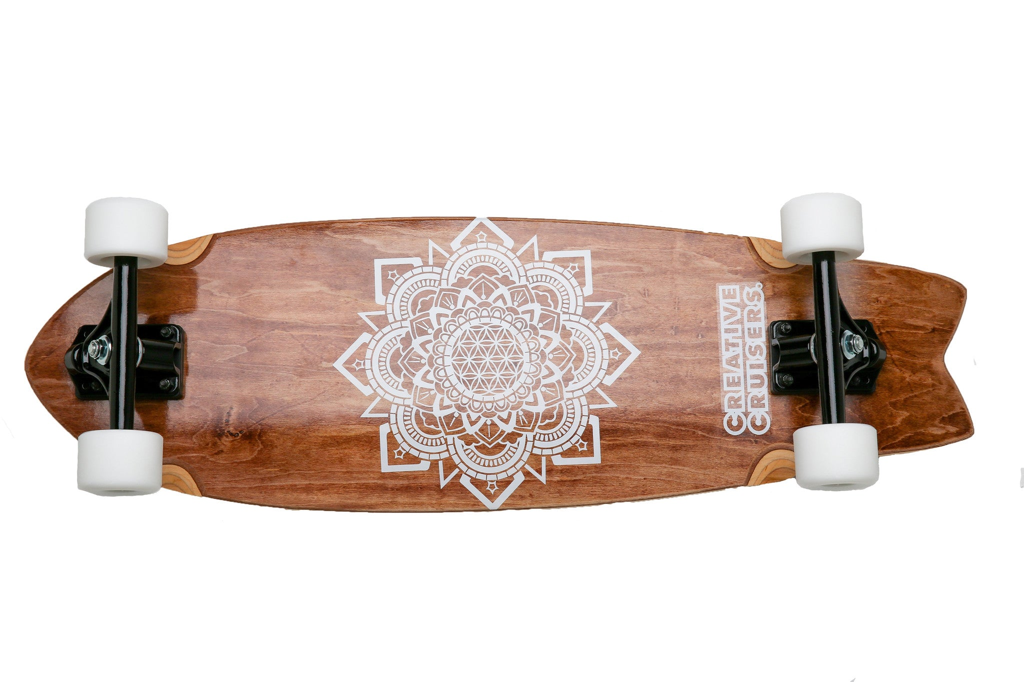 "The Classic Cruiser - 30""x9.5"" + Free Mini Deck"