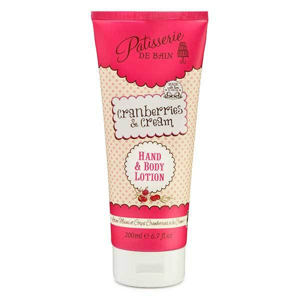 Patisserie de Bain Body Lotion - Cranberries & Cream 200ml