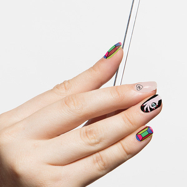 Tattify Nail Wraps - Crystal Ball