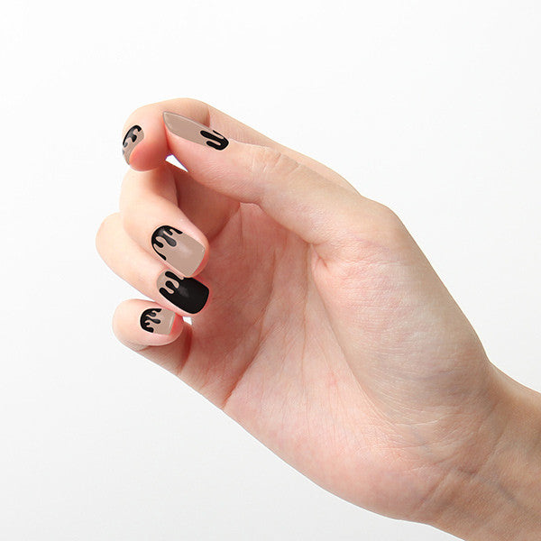 Tattify Nail Wraps - Spilled Ink
