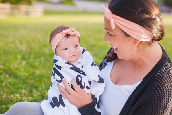 Angelina Knotted Headband - Mommy & Me / Sister Set