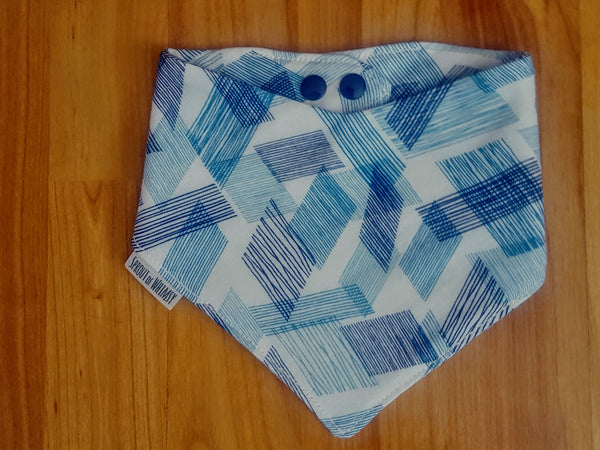 Maeve Bandanna Bib - Blues