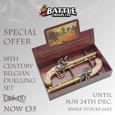 18th Century Belgian Duelling Set