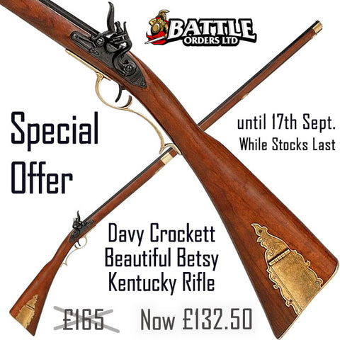 Davy Crockett Beautiful Betsy Kentucky Rifle Replica