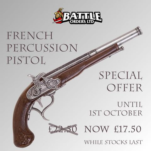 French Percussion Pistol