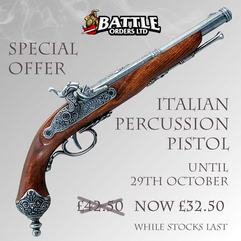 Italian Percussion Pistol Replica
