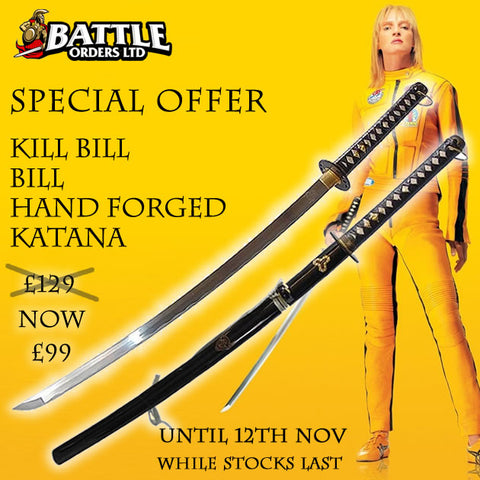 Kill Bill BILL Hand Forged Katana Replica