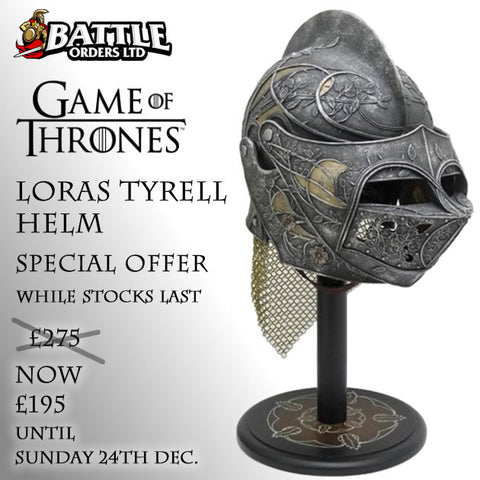 Loras Tyrell Helm - Game of Thrones