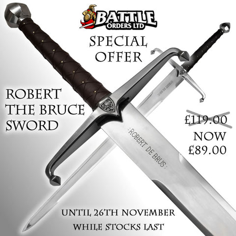 Robert The Bruce Sword